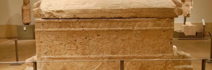 تابوت الملك أهيرام الملعون