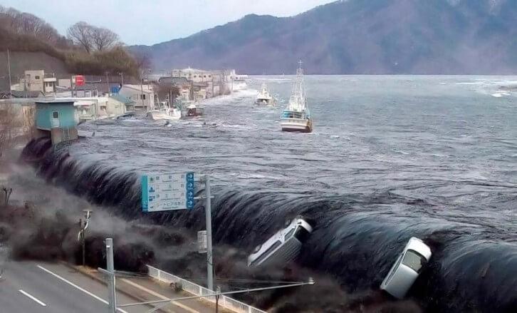 زلزال توهوكو- اليابان