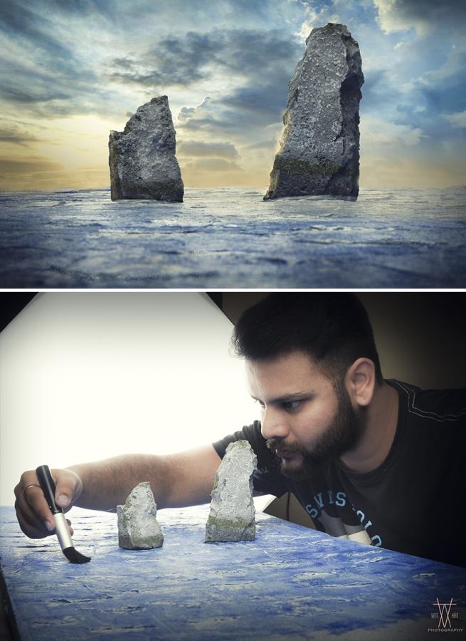 صخور المحيط