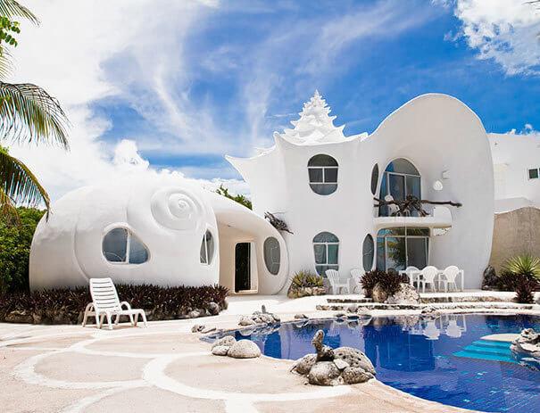 منزل الصدفة في المكسيك