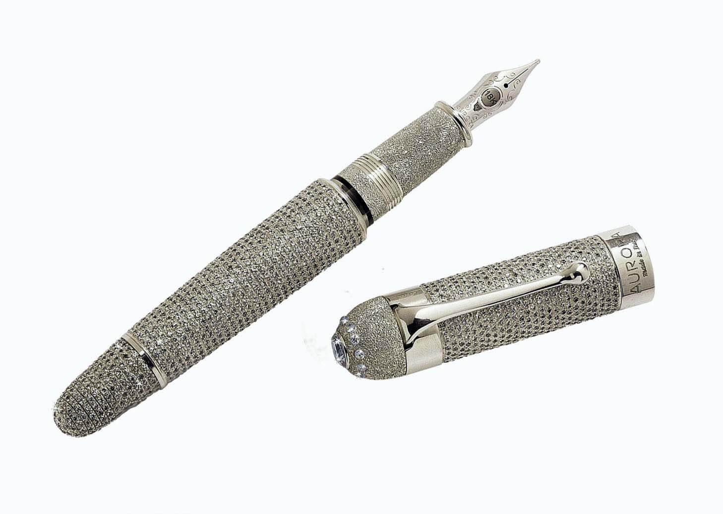 قلم Aurora Diamante من أجمل الأقلام الفاخرة