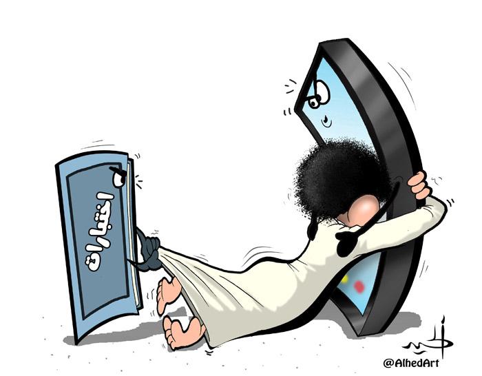 كاريكاتير رمضان مع فيروز و أنغام