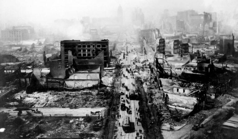 أقوى الزلازل التي ضربت العالم