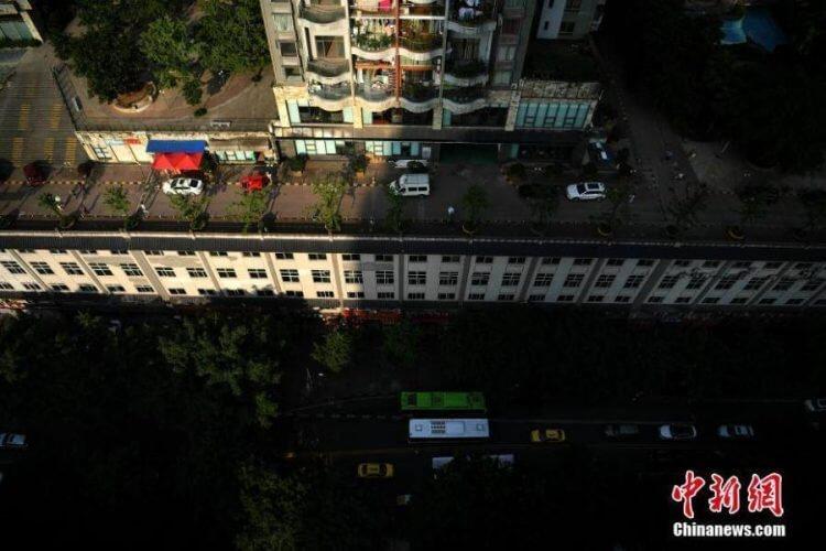 مبنى في الصين