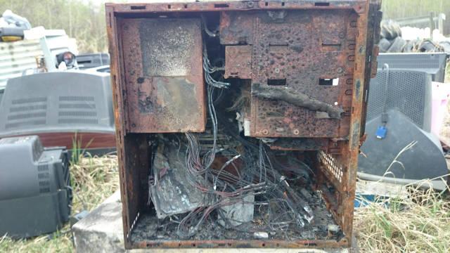تدمير أجهزة تكنوولجية