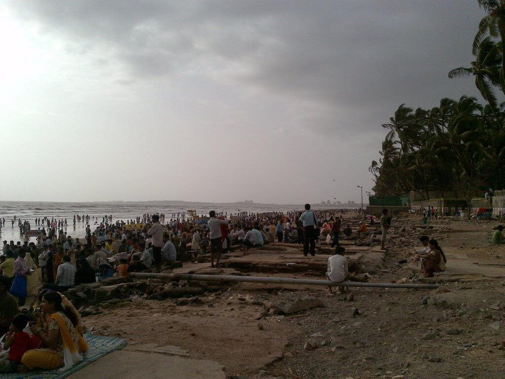 شاطئ Juhu، مومباي، الهند