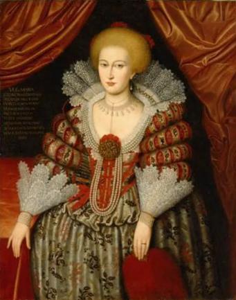 الملكة Maria Eleonora of Brandenburg