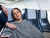 البرد في الطائرة