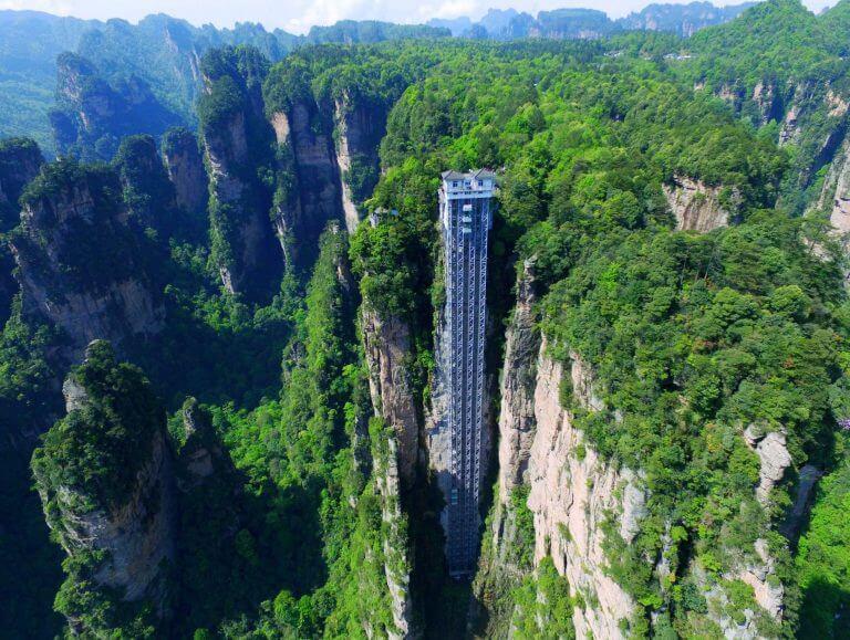 المصعد الأطول