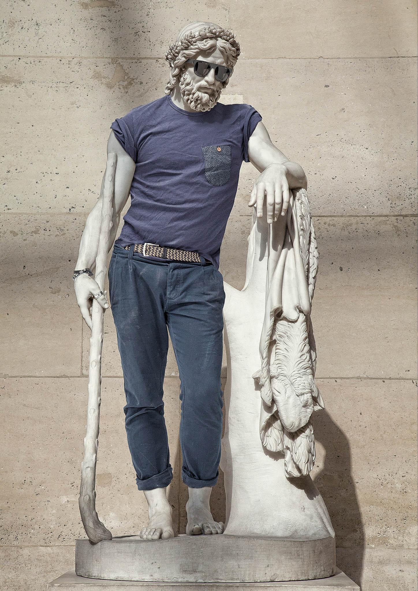 تماثيل اللوفر