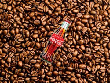 كوكا كولا بطعم القهوة