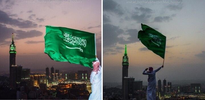 منوعات: احتفالات اليوم الوطني من أطهر بقاع الأرض، مكة المكرمة..