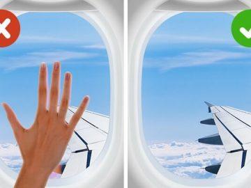رحلة عبر الطائرة