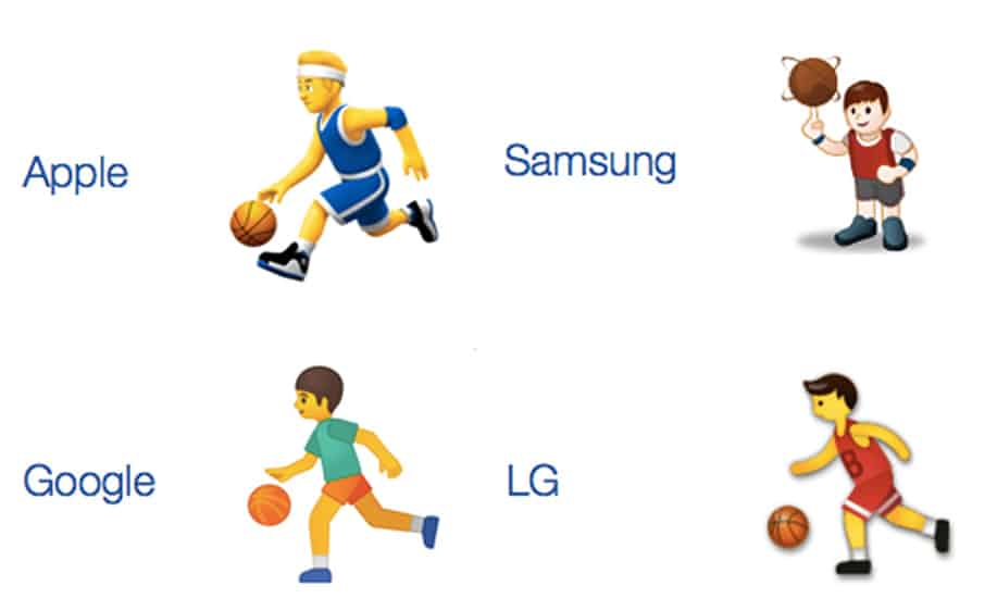 لماذا تختلف رموز سامسونج التعبيرية عن غيرها من الهواتف؟