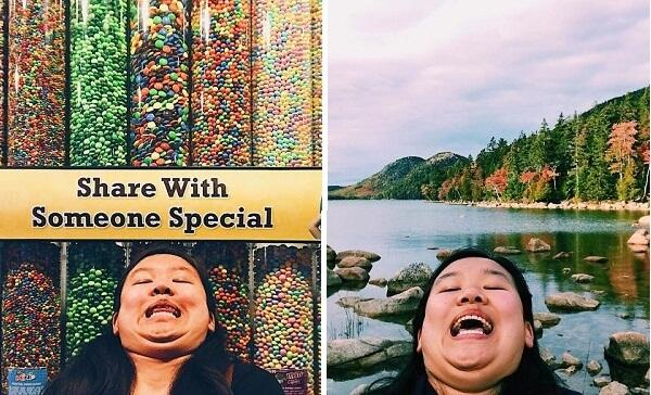 سيلفي الذقن، طريقة مضحكة لمحاربة الكمال في صور الحسابات الاجتماعية!