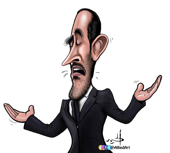 كاريكاتير ماجد عبدالله