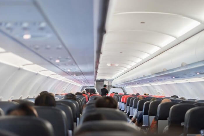 ميزات داخل الطائرات
