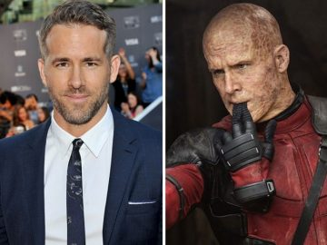 Actors Before And After Applying Movie Makeup