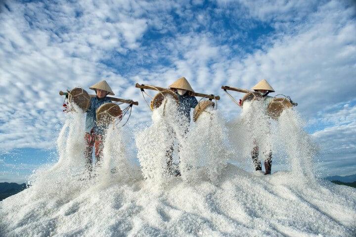 حقول الملح