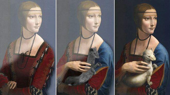 لوحات ليوناردو دافنشي