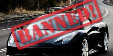 حظر السيارات السوداء