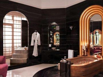 أفخم حمامات الفنادق