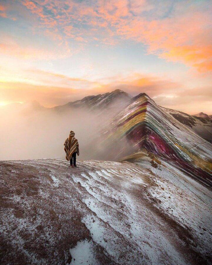 جبال قوس قزح