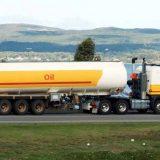 شاحنات نقل الوقود