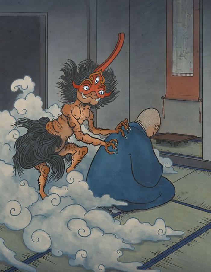 أغرب المخلوقات الأسطوريّة اليابانيّة