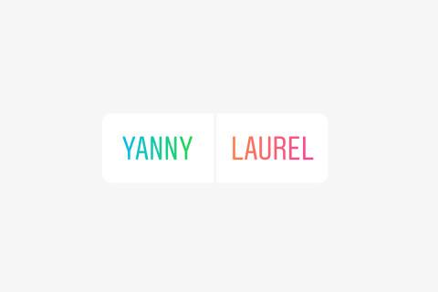 لوريل أم ياني مقطع صوتي