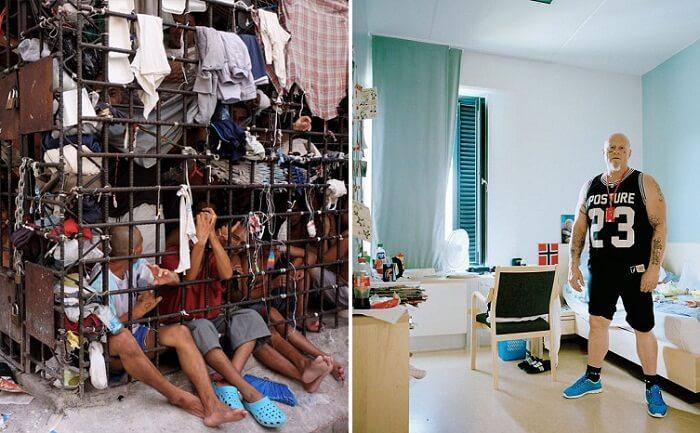 صور: نظرة على ظروف المعيشة في سجون مختلفة حول العالم