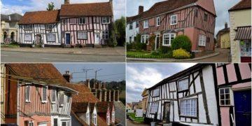 منازل قرية لافنهام