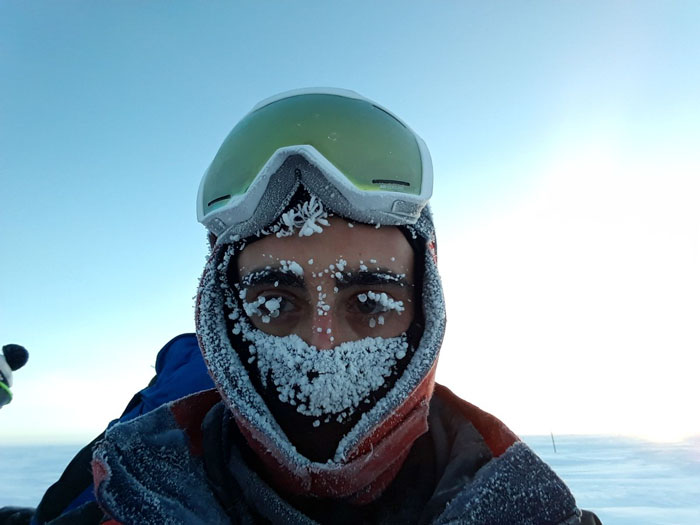 القطب المتجمد الجنوبي