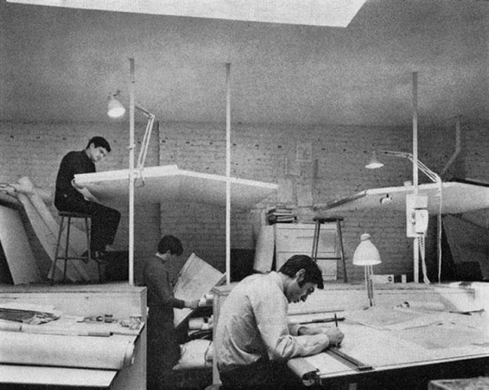 المهندسين في الماضي