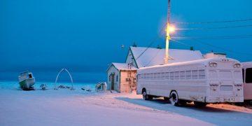المدينة القطبية في ألاسكا