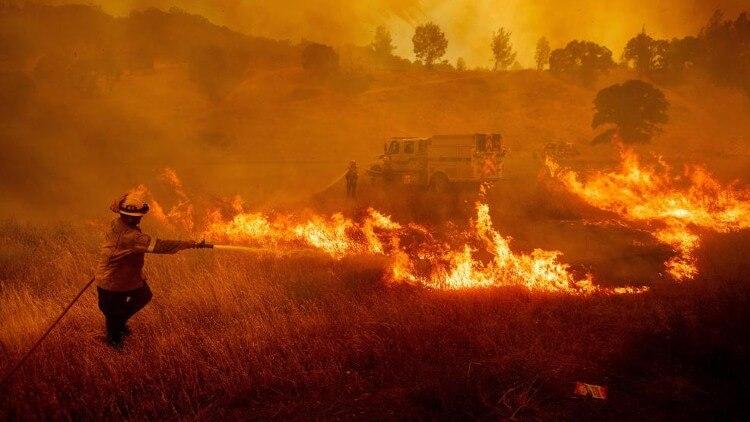 حريق خريف كاليفورنيا