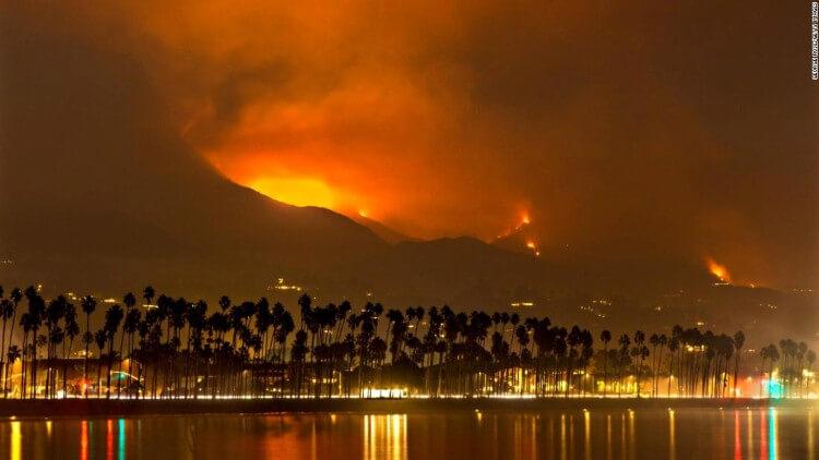 حريق سانتا باربرا