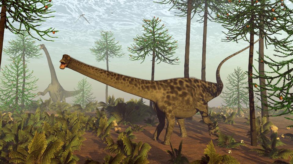 الديناصورات التي كانت تتعاطى المخدرات
