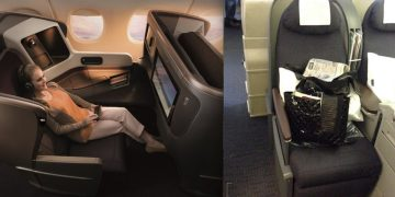 flying first class is really like