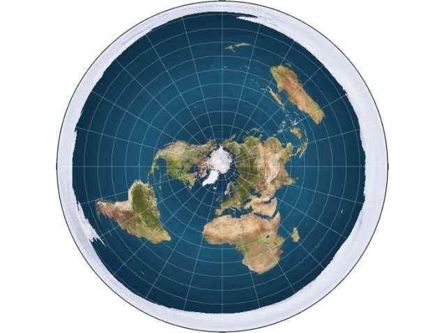 الأرض مسطحة