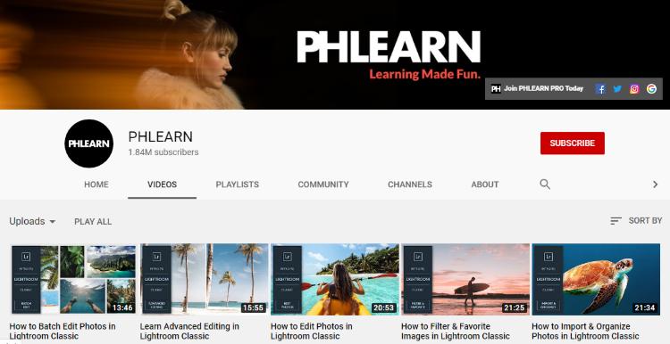 قناة phlearn