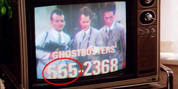 أرقام الهاتف للأفلام