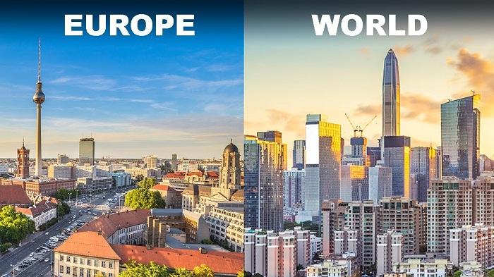 europe Skyscrapers 1310206