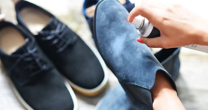 تنظيف الحذاء