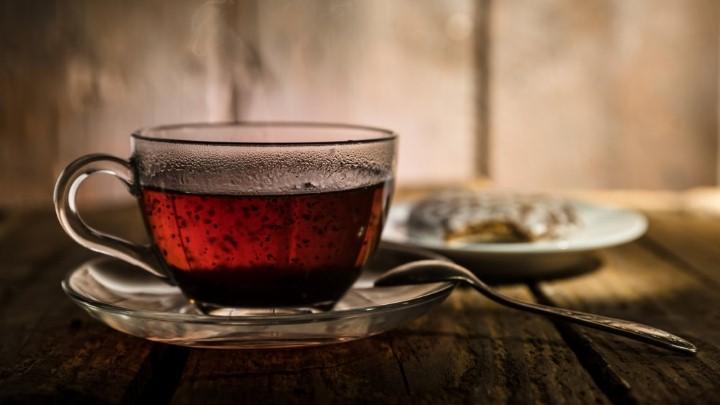 شاي أسود