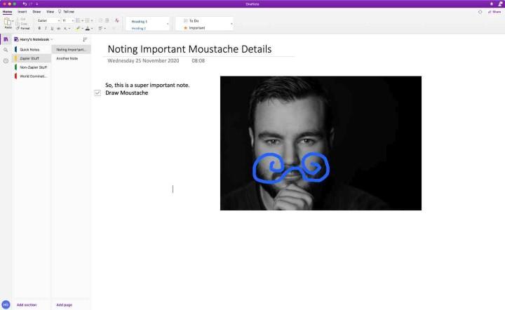 تطبيق Microsoft OneNote