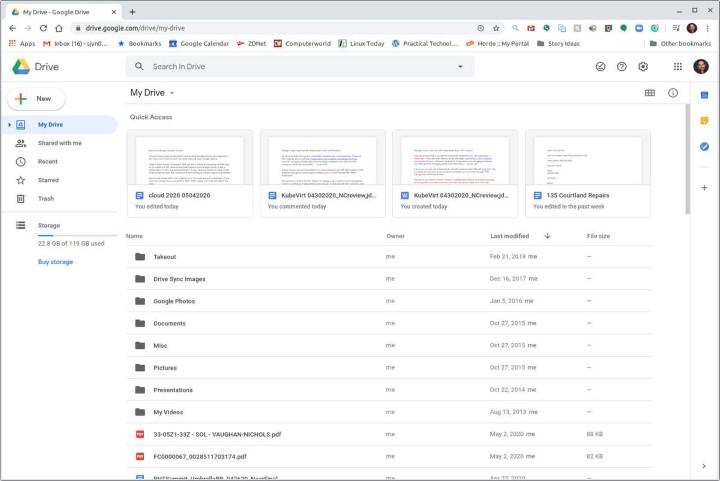 تخزين سحابي google-drive