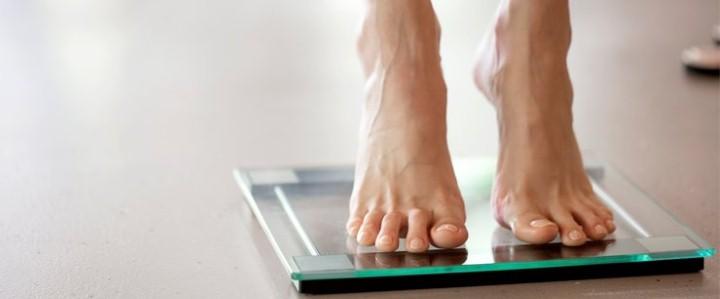 قياس وزن الجسم