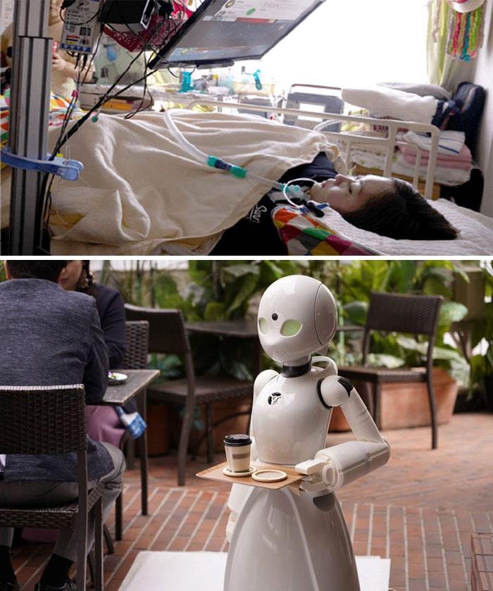 مطعم روبوت